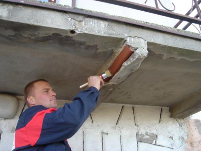 Методы расширения балкона: увеличение площади по основанию п.