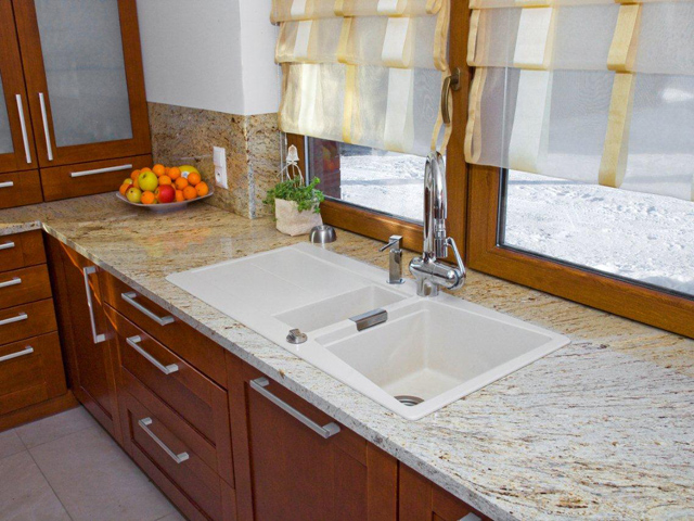Marmur w kuchni  technologie  PanoramaBudownictwa pl   -> Kuchnie W Marmurze